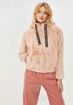 Куртка утепленная, Befree, цвет: розовый. Артикул: BE031EWBXLH0. Одежда / Верхняя одежда / Демисезонные куртки