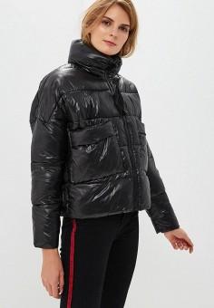 Куртка утепленная, Befree, цвет: черный. Артикул: BE031EWBXLJ3. Одежда / Верхняя одежда / Демисезонные куртки