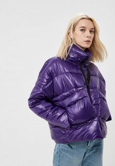 Куртка утепленная, Befree, цвет: фиолетовый. Артикул: BE031EWBXLJ5. Одежда / Верхняя одежда / Демисезонные куртки