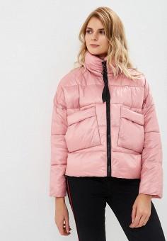 Куртка утепленная, Befree, цвет: розовый. Артикул: BE031EWBXLJ6. Одежда / Верхняя одежда / Демисезонные куртки