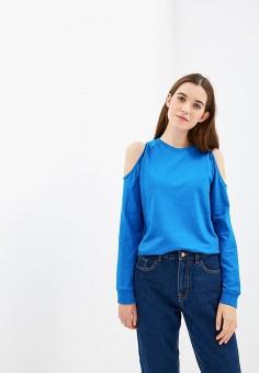 Свитшот, Befree, цвет: синий. Артикул: BE031EWBXLV5. Одежда / Толстовки и свитшоты