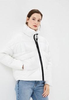 Пуховик, Befree, цвет: белый. Артикул: BE031EWBXLX0. Одежда / Верхняя одежда / Зимние куртки