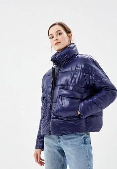Пуховик, Befree, цвет: синий. Артикул: BE031EWBXLX1. Одежда / Верхняя одежда / Зимние куртки
