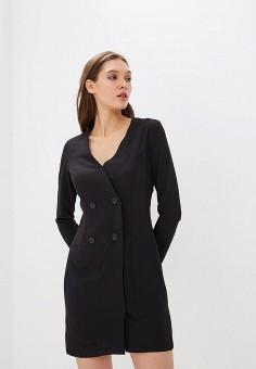 Платье, Befree, цвет: черный. Артикул: BE031EWBXMA4. Одежда / Платья и сарафаны