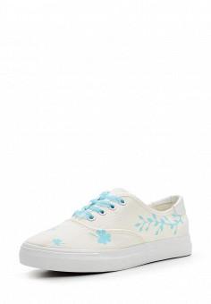 Кеды, Bellamica, цвет: белый. Артикул: BE058AWAVVK9. Обувь / Кроссовки и кеды / Кеды