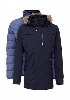 Парка, Bergans of Norway, цвет: синий. Артикул: BE071EMYCZ78. Мужская одежда / Верхняя одежда / Пуховики и зимние куртки