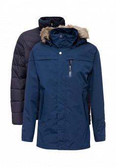 Парка, Bergans of Norway, цвет: синий. Артикул: BE071EMYCZ79. Мужская одежда / Верхняя одежда / Пуховики и зимние куртки