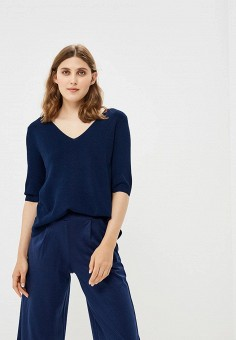 Пуловер, Betty & Co, цвет: синий. Артикул: BE086EWBUQI4. Одежда