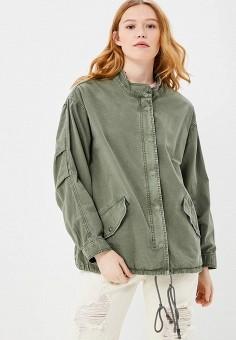 Куртка, Billabong, цвет: хаки. Артикул: BI009EWAOGZ8. Одежда / Верхняя одежда / Легкие куртки и ветровки