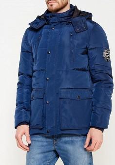 Куртка утепленная, Blend, цвет: синий. Артикул: BL203EMVDE55. Одежда / Верхняя одежда / Пуховики и зимние куртки