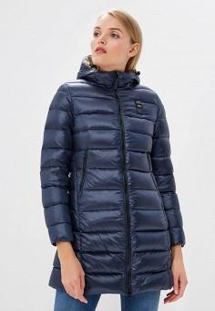 Пуховик, Blauer, цвет: синий. Артикул: BL654EWCATT9. Одежда / Верхняя одежда / Зимние куртки