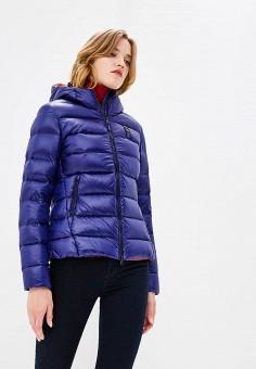 Пуховик, Blauer, цвет: синий. Артикул: BL654EWCAXU2. Одежда / Верхняя одежда / Зимние куртки