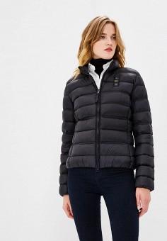 Пуховик, Blauer, цвет: черный. Артикул: BL654EWCAXU4. Одежда / Верхняя одежда / Зимние куртки