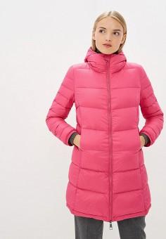Пуховик, Boss Hugo Boss, цвет: розовый. Артикул: BO010EWBUKK7. Premium / Одежда / Верхняя одежда / Зимние куртки