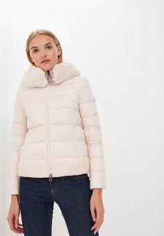 Пуховик, Bosideng, цвет: бежевый. Артикул: BO026EWCPQP0. Premium / Одежда / Верхняя одежда / Зимние куртки