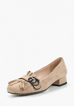 Туфли, Bona Dea, цвет: бежевый. Артикул: BO027AWALKK9. Обувь / Туфли / Закрытые туфли