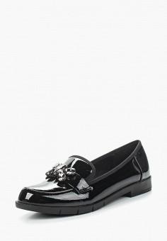 Лоферы, Bona Mente, цвет: черный. Артикул: BO053AWAUZM4. Обувь