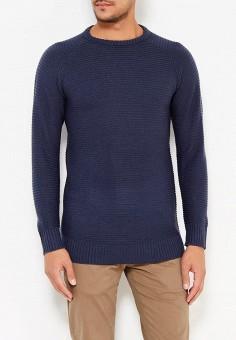 Джемпер, Brave Soul, цвет: синий. Артикул: BR019EMWUI58. Одежда / Джемперы, свитеры и кардиганы
