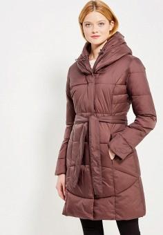 Куртка утепленная, Bruebeck, цвет: коричневый. Артикул: BR028EWWTY70. Одежда / Верхняя одежда