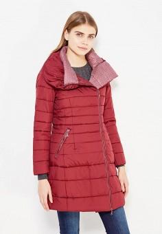 Куртка утепленная, Bruebeck, цвет: бордовый. Артикул: BR028EWWTY72. Одежда / Верхняя одежда