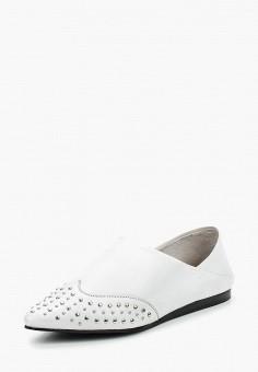 Туфли, Bronx, цвет: белый. Артикул: BR336AWAGII5. Обувь / Туфли / Закрытые туфли