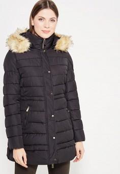 Куртка утепленная, B.Style, цвет: черный. Артикул: BS002EWXWM39. Одежда / Верхняя одежда