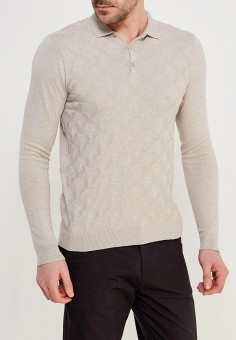 Поло, Burton Menswear London, цвет: бежевый. Артикул: BU014EMAHYR7. Burton Menswear London