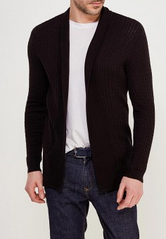 Кардиган, Burton Menswear London, цвет: черный. Артикул: BU014EMAHYR9. Burton Menswear London