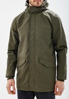 Парка, Burton Menswear London, цвет: хаки. Артикул: BU014EMBADX7. Одежда / Верхняя одежда / Парки
