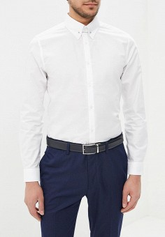 Рубашка, Burton Menswear London, цвет: белый. Артикул: BU014EMBADY8. Burton Menswear London
