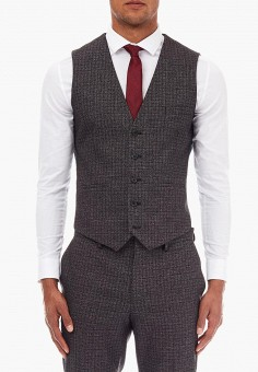 Жилет, Burton Menswear London, цвет: серый. Артикул: BU014EMCOBS4. Burton Menswear London