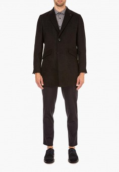 Пальто, Burton Menswear London, цвет: черный. Артикул: BU014EMCSGY4. Burton Menswear London