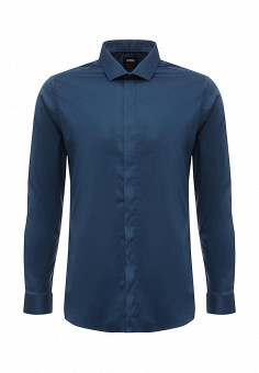 Рубашка, Burton Menswear London, цвет: синий. Артикул: BU014EMWFN45. Burton Menswear London