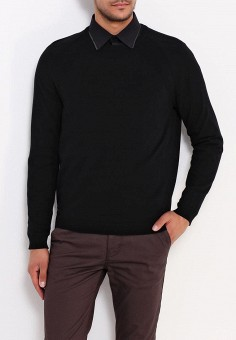 Джемпер, Burton Menswear London, цвет: черный. Артикул: BU014EMWFN51. Одежда / Джемперы, свитеры и кардиганы