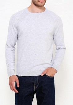 Джемпер, Burton Menswear London, цвет: серый. Артикул: BU014EMWFN53. Одежда / Джемперы, свитеры и кардиганы
