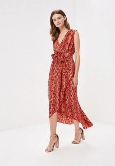 Платье, By Swan, цвет: красный. Артикул: BY004EWBXYC1. Одежда / Платья и сарафаны