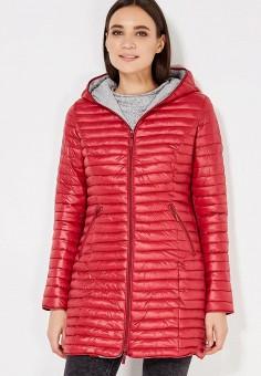 Куртка утепленная, By Swan, цвет: красный. Артикул: BY004EWXBB85. Одежда / Верхняя одежда