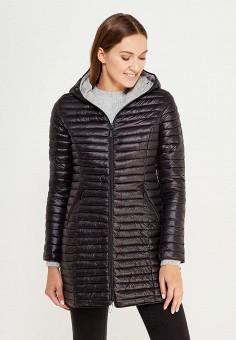 Куртка утепленная, By Swan, цвет: черный. Артикул: BY004EWXBB88. Одежда / Верхняя одежда