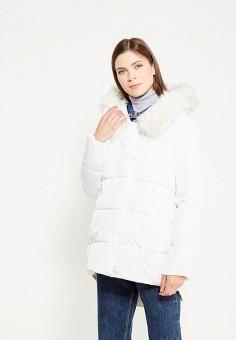 Куртка утепленная, By Swan, цвет: белый. Артикул: BY004EWYKF07. Одежда / Верхняя одежда