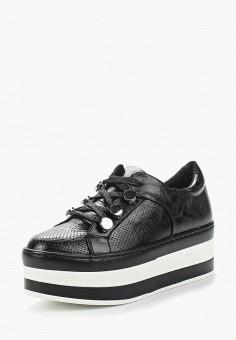 Кеды, Catisa, цвет: черный. Артикул: CA072AWANUE2. Обувь / Кроссовки и кеды / Кеды
