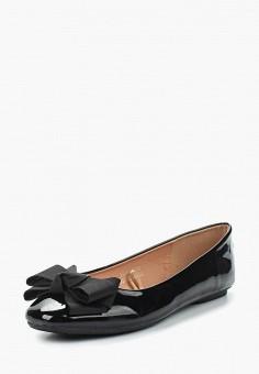 Балетки, Catisa, цвет: черный. Артикул: CA072AWAWQZ7. Обувь