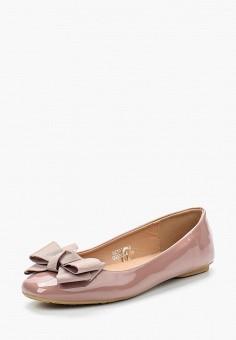 Балетки, Catisa, цвет: розовый. Артикул: CA072AWAWQZ8. Обувь