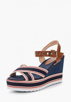 Босоножки, Catisa, цвет: синий. Артикул: CA072AWBCPW8. Обувь