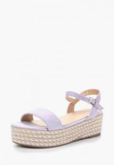 Эспадрильи, Catisa, цвет: фиолетовый. Артикул: CA072AWBCPX2. Обувь