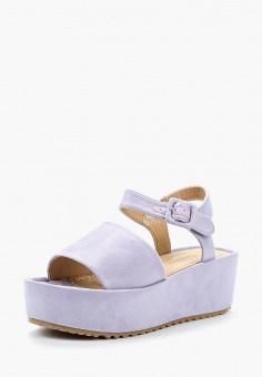 Босоножки, Catisa, цвет: фиолетовый. Артикул: CA072AWBCQA1. Обувь