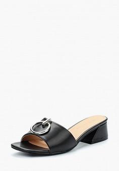 Сабо, Catisa, цвет: черный. Артикул: CA072AWBCQB5. Обувь