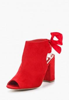 Босоножки, Catisa, цвет: красный. Артикул: CA072AWBCWG3. Обувь