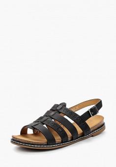 Сандалии, Catisa, цвет: черный. Артикул: CA072AWBMKQ1. Обувь
