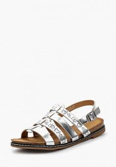 Сандалии, Catisa, цвет: серебряный. Артикул: CA072AWBMKQ3. Обувь
