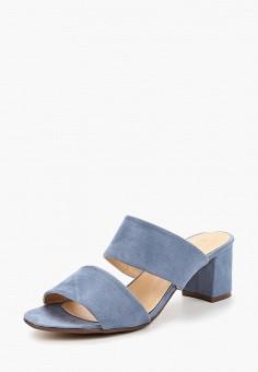 Сабо, Catisa, цвет: голубой. Артикул: CA072AWBMKQ7. Обувь